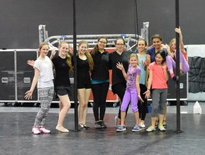 Workshop in style of Pippin with choreographer Gypsy Snider