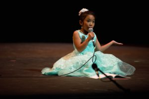1st Place Winner - Quebec/Ontario vocal competition 2016 Broadway 8 and under