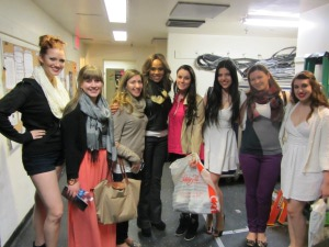 Behind the stage with  Deborah Cox (famous singer, song-writer currently performing Lucy in Jekyll&Hyde on Broadway)