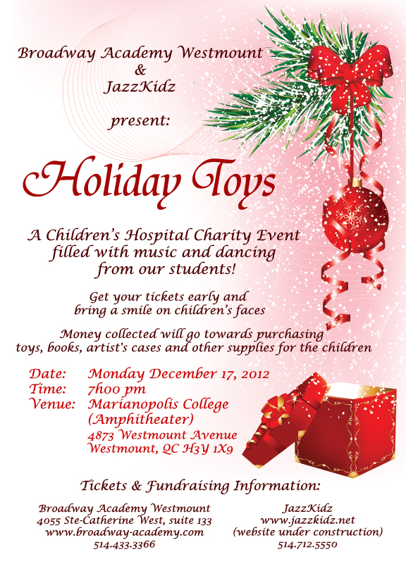 Holiday Toys Charity Event